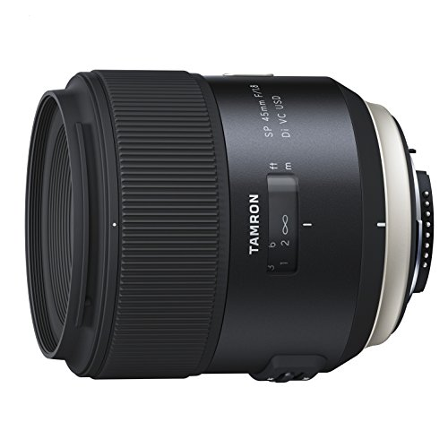 Tamron SP - Objetivo para Sony DSLR (distancia focal fija 45 mm, apertura f/1.8, Di, USD, diámetro filtro: 67 mm), negro