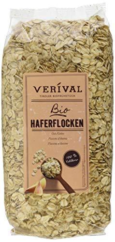 Verival Haferflocken - Bio, 6er Pack (6 x 500 g)