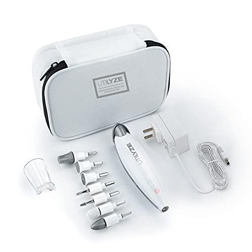 UTILYZE 10-in-1 Professional Electric Manicure & Pedicure Set, Powerful...
