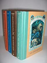 A Series of Unfortunate Events 4 Book Set Volumes 8-11: The Hostile Hospital/The Carnivorous Carnival/The Slippery Slope/T...
