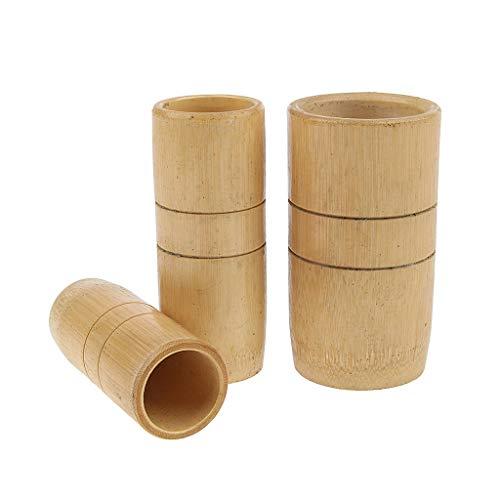 3x Copas succión de bambú SPA Masaje Relajarse Cuidado de Cuerpo