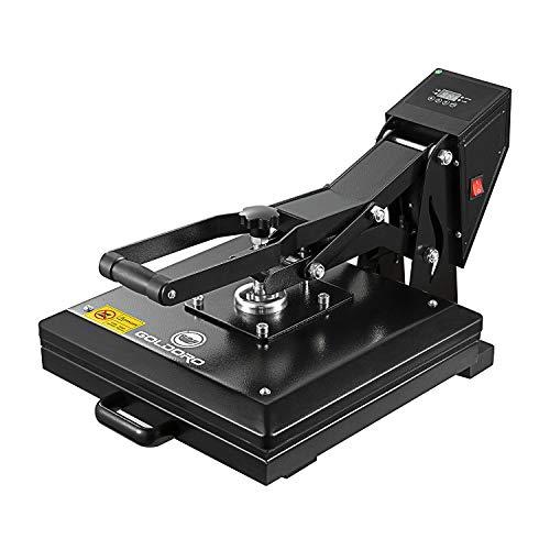 GOLDORO Heat Press Machine 15x15 inch Digital Industrial Quality Printing Press Heat Transfer Machine for T-Shirt