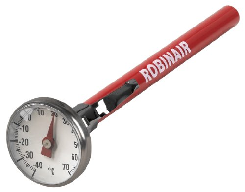 Robinair 40895 Dial Thermometer, -40° to +70°C, 1
