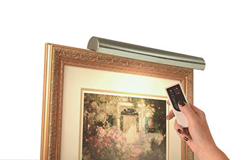 Concept Lighting 302L Cordless LED Remote Control Picture Light, 18
