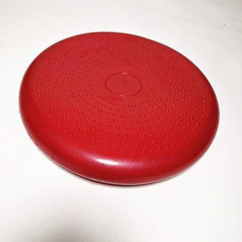 Ssery Balance Disc PVC, Balance Yoga Balls Estabilidad Soft Classic, Balance Disc Equilibrio Pad 34cm @ Red