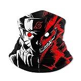 Anime Anime Naruto Two Face Balaclava Uv Protection Headwear Ice Silk Neck Gaiter Tube Mask for Teens.