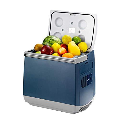 DHTOMC Refrigerador de coche Dormitorio portátil incubadora, refrigerador de coche al aire libre 25L, enfriador silencioso y calentador, combinación de congelador, kshu 45W