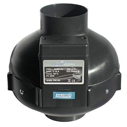Extractor de aire UFO RVK Prima Klima 950 m³/h 200mm (PK200-L)