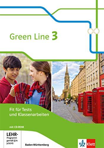 Green Line 3. Ausgabe Baden-Württemberg: Fit für Tests und Klassenarbeiten mit Lösungsheft und Mediensammlung Klasse 7 (Green Line. Ausgabe für Baden-Württemberg ab 2016)