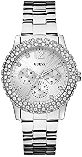 Guess Sport Watch for Women, Stainless Steel, Analog - W0335L1
