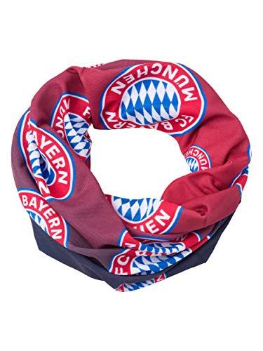 FC Bayern München Multifunktionstuch Kinder, Schlauchschal