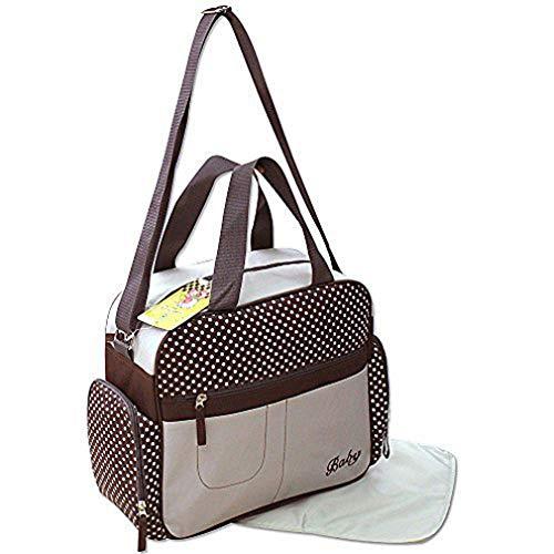GMMH 2 tlg Wickeltasche Pflegetasche Windeltasche Babytasche Farbauswahl 2130 (beige)
