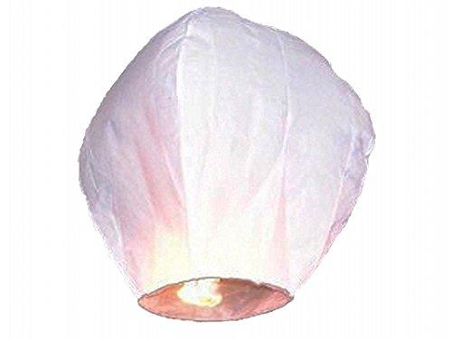 AREA Sky Lanternes Chinoises Volantes, Blanc