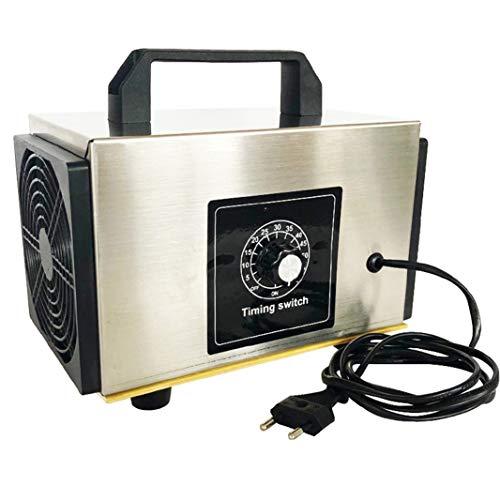 Generador de ozono profesional y purificador de aire potente, limpiador portátil industrial O3, desodorante, esterilizador.