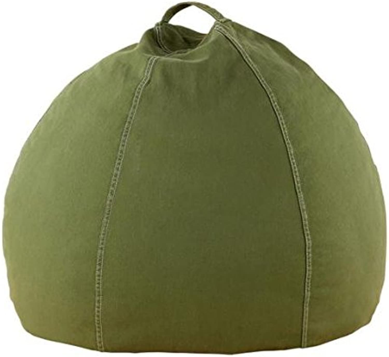 Mybeanbag Chair Kids Round, Twill, Green