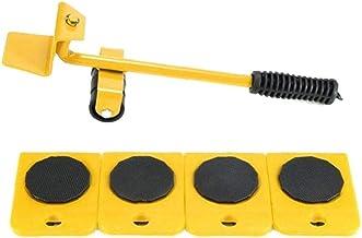 Meubellifter Mover Tool Set Meubels Slider Heavy Duty Meubelrol voor Banken Banken Koelkasten 5 STKS Geel