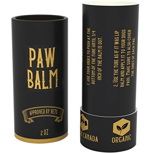 SÄKER Handmade Organic Dog Paw Balm  The Most Advanced All Natural Protection Against Cold amp Chemicals in Ice Salt Made in Canada Our Dog Paw Wax can heal Dry and Cracked paw Pads