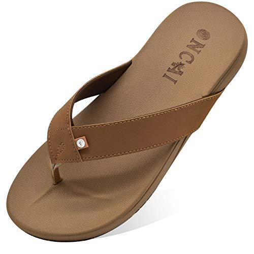 Zapatos para Hombre Sandalias y Chanclas de Playa para Adulto, Zapatillas Suela de Goma Antideslizante de Yoga-Espuma Acolchada