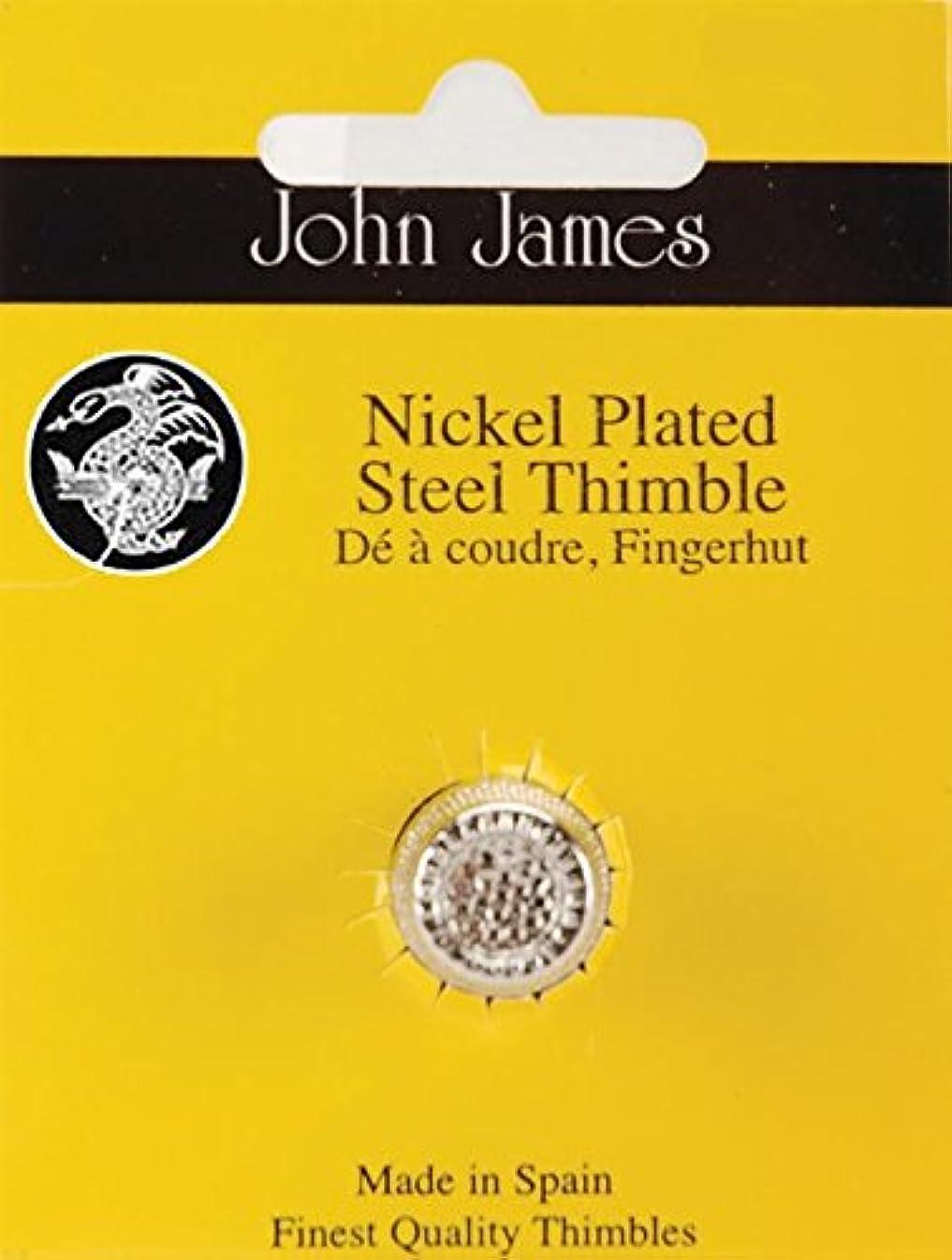 Colonial Needle Dome Top Thimble, Medium, Nickel