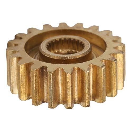 Engranaje servo Engranaje de latón Engranaje de 20 dientes MOD 0.8 Piezas de suministros industriales, Modelo 4305‑0025‑0020