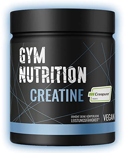 KREATIN CREAPURE Monohydrat Pulver 500g reines Kreatin Monohydrat Pulver mit 99,99% Reinheit Vegan, Halal und hergestellt in Deutschland
