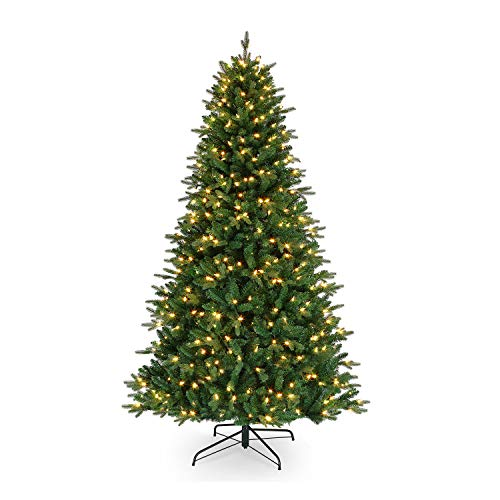 Mr. Christmas Alexa Compatible RGB Vermont Spruce LED Christmas Tree, Five Foot Artificial Tree, 5' – A Certified for Humans Device