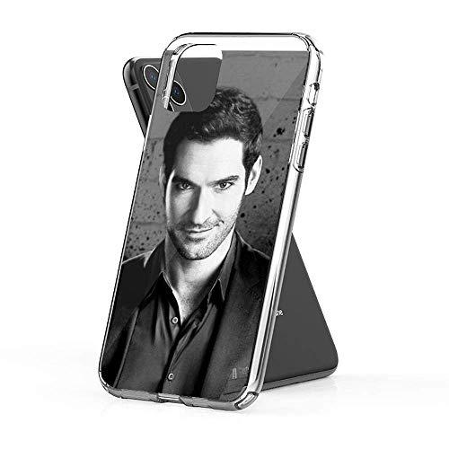 Sexeety Funda Compatible con Phone 6 /6s Case Funda Protectora Lucifer Morningstar Merch Cases