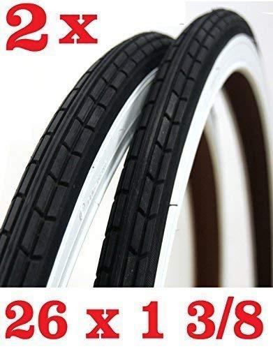 Oferta - 2X Neumático para Bicicleta Tamaño 26 X 1 3/8 -