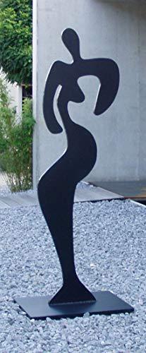 "Sibylle Rettenmaier "" TIA "" Moderne Gartenskulptur - Skulptur - Plastik aus Metall -160 cm hoch"