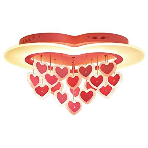 Plafondlamp voor kinderkamer, slaapkamer, creatief Fungo, model slaapkamer, kinderkamer, LED-lamp, dimbaar, wit, decoratief Warm licht