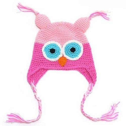 LOCOMO Baby Knit Beanie Crochet Hoo…