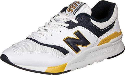 New Balance 997 Sneakers Uomini Bianco/Blu/Giallo - 40 - Sneakers Basse