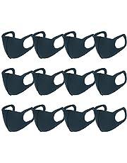 [Amazon限定ブランド]マスク 12枚セット かぜ用 花粉 UVカット 洗えるマスク 個包装 通気性 男女兼用 小さめ ポリウレタン素材10色選べる ASOTA