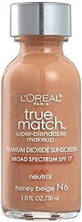 Loreal Foundation-True Match Super Blendable Makeup Foundation-Honey beige