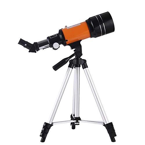 SOAR Telescopio Astronomico Telescopio Refractor ecuatorial 150X telescopio portátil de Viaje con el trípode for al Aire Libre de la Estrella Observación