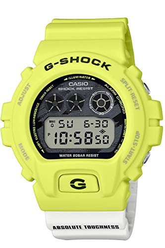[カシオ] 腕時計 ジーショック ライティング イエロー シリーズ DW-6900TGA-9JF メンズ