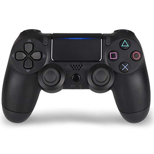 TANGZH Wireless Controller Compatibile per PS4, Bluetooth Wireless Game Controller per PS4 Slim/PRO con Doppia Vibrazione E 6-Axis Gyro Sensor, Classici PS4 Wireless Joystick