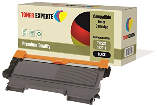 TONER EXPERTE® Compatible TN2220 TN2010 Cartucho de Tóner Láser para Brother DCP-7055 DCP-7060D DCP-7065DN HL-2130 HL-2132 HL-2135W HL-2240 HL-2240D HL-2250DN HL-2270DW MFC-7360N MFC-7860DW FAX-2840