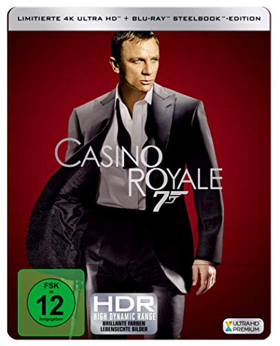 James Bond: CASINO ROYALE  ( 4K UHD + Blu-ray ) Limited Edition