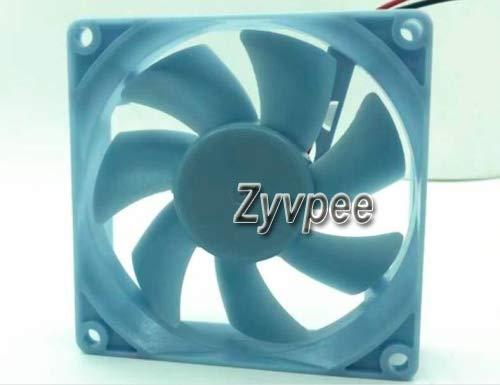 zyvpee BCD-450ZP9CN BCD-450ZP9CK BCD-450ZP9B BCD-448P9YH - Ventilador para frigorífico (8 cm, 12 V, 80 mm, 1,1 W, 0,09A1868 rpm, 22,3 dBA 80 x 80 x 25 mm)