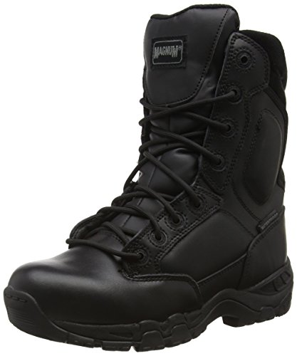 Magnum Viper Pro 8.0 Leather Waterproof, Botas De Trabajo Unisex Adulto, color negro (black 021), talla 41 EU (7 UK)