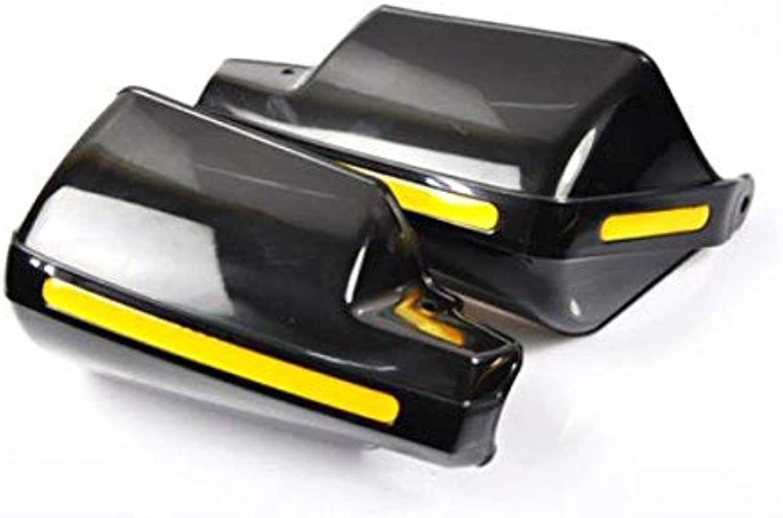 Motorcycle Grips Armguard Wind Shield  Motorcycle Body & Frame  (Black)  1pair X Motorcycle Armguard