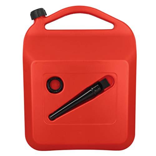 SUMEX PETRO20 Bidón de Gasolina o Combustible de 20 litros Homologado, con Tubo y Visor de Nivel, 20 L