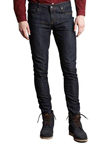 Criminal Damage - Jeans, Unisex, Blu (Indigo), 36- UK