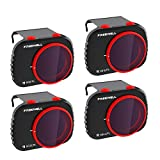 Freewell Bright Day - 4K Séries - 4Pack Filtres Compatible avec Mavic Mini Drone