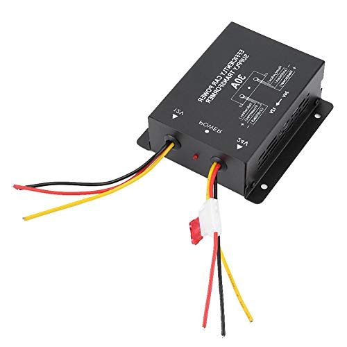 Auto omvormer, auto DC transformator omvormer converter DC 24V tot 12V auto spanningsreductor batterij stroomvoorziening volt regelaar transformator default DC 24 V tot 12 V/30 A.