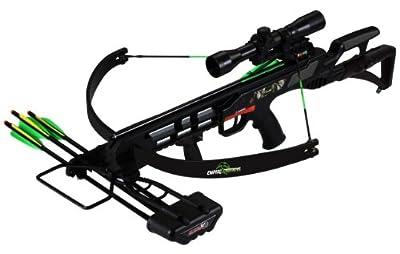 SA Sports Empire Terminator Recon Recurve Crossbow w. 4x32 Multi-Range Scope, 175Lb, 260 Fps (613)