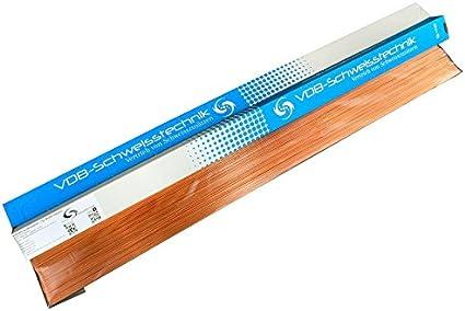 Schwei/ßdraht WIG Stahl Universal 1.5125-1,2 x 1000 mm WSG-2-2,0 Kg