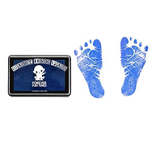 Sauberes und sicheres Baby Hand- und Fußabdruck-Set von Forever Fun Times | Erhalten Sie Hunderte von Detailabzügen mit einem babysicheren Stempelkissen