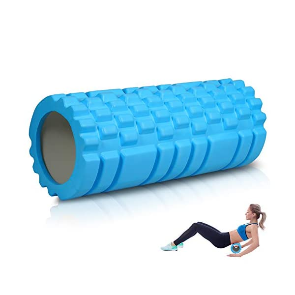 Foam Roller for Physical Therapy & Exercise, Muscle Massage for Pain Relief,...